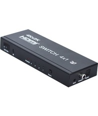HDMI переключатель HDMI switch 4x1 + audio (3D, 4K*2K) VConn
